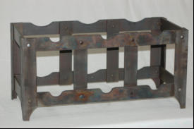 Iron Wine Rack ~ essentialiron.com